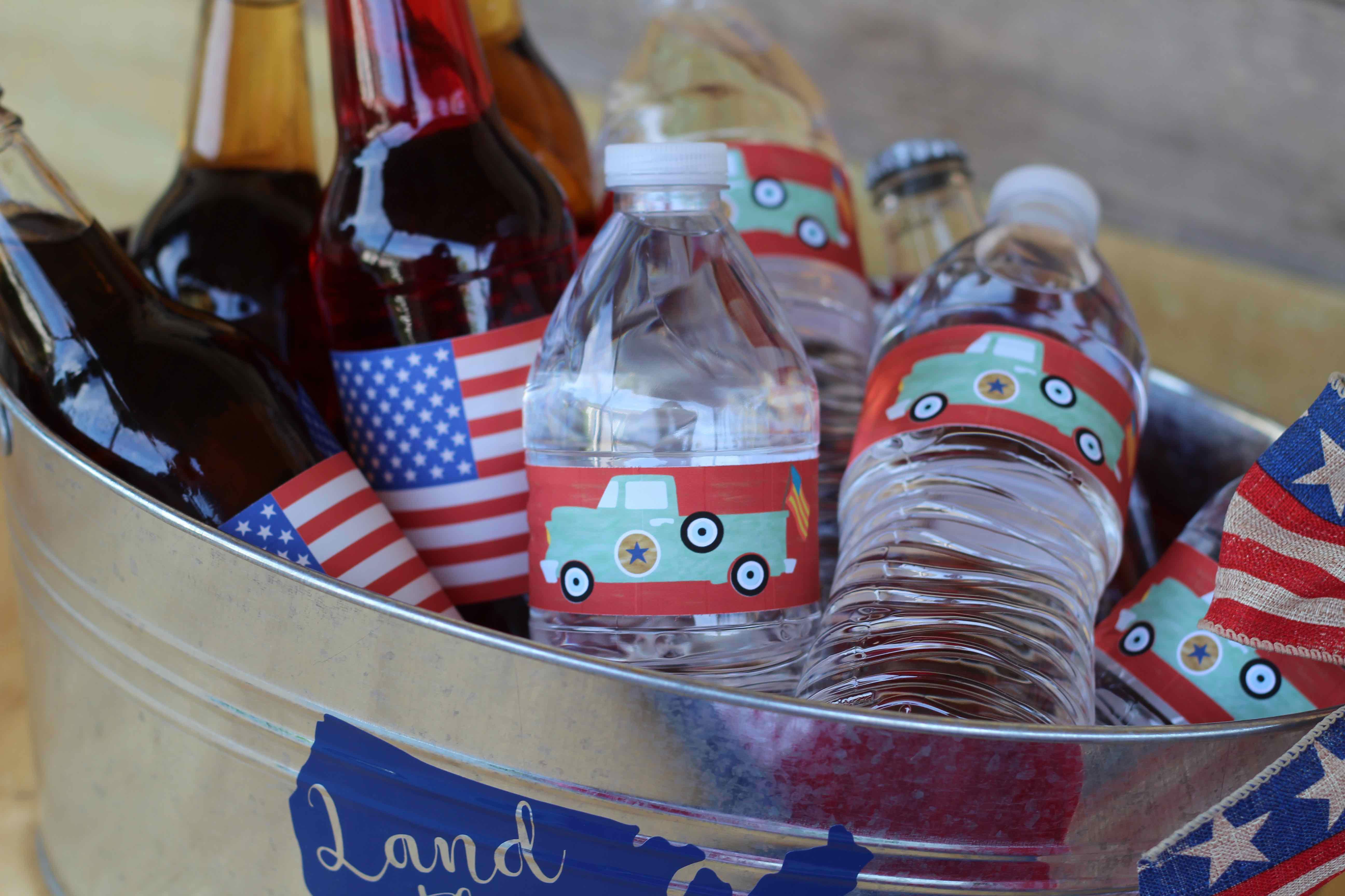 american flag wraps