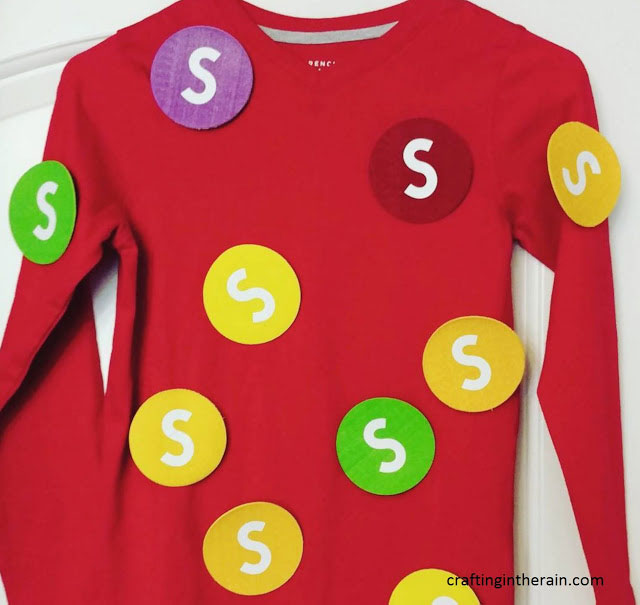 If you love candies, here's the costume for you