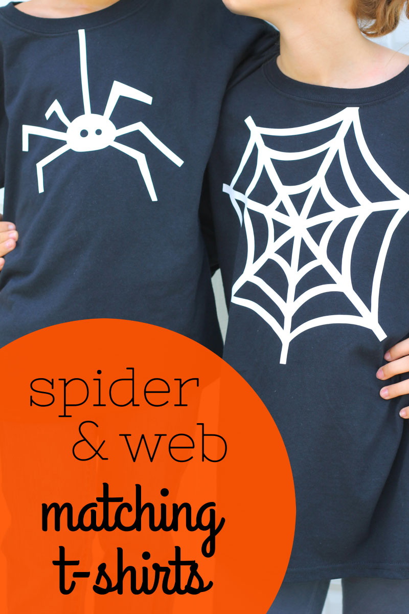 Finished Spider and Web shirts