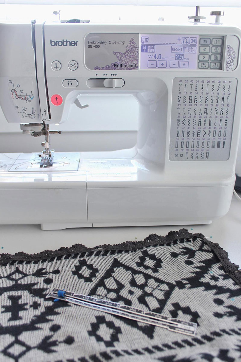 Sew your fabric