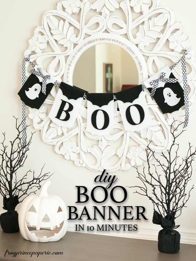 Create this awesome Boo banner