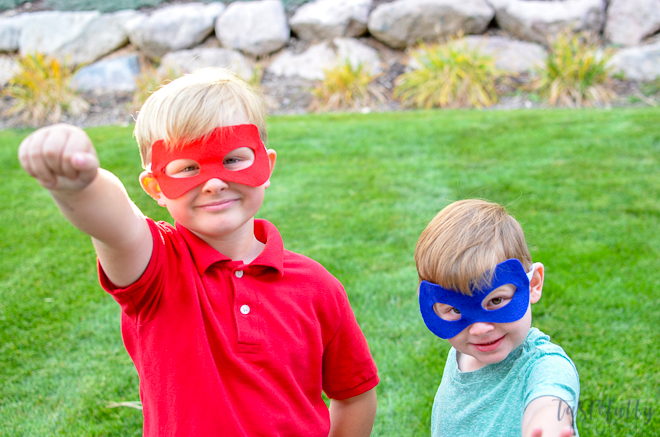 Easy felt masks that can work on any day
