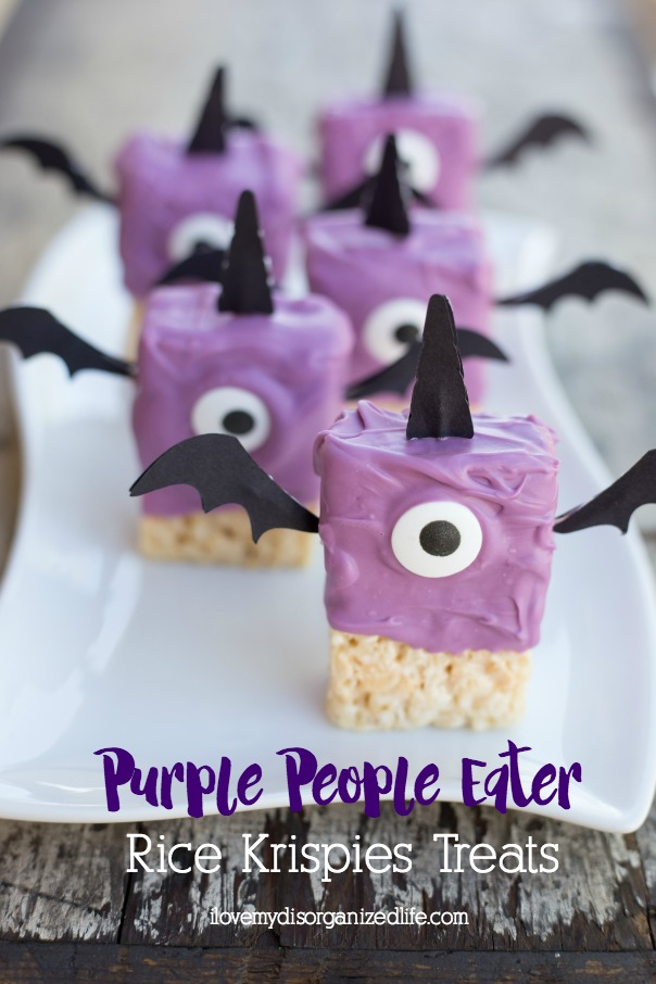 Purple people eater treats