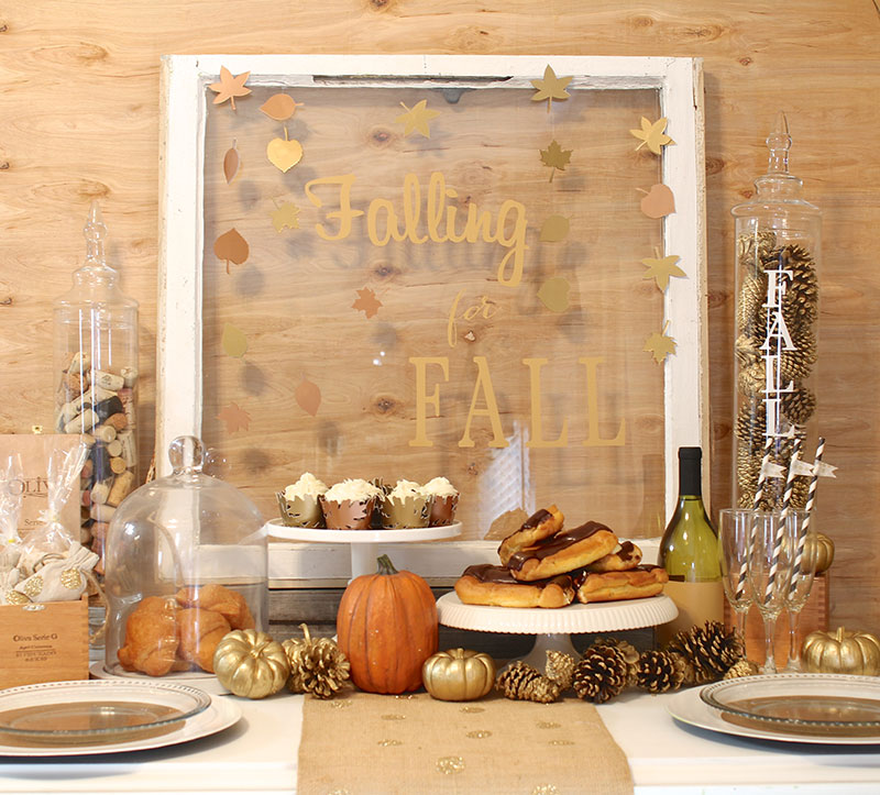 Another fun fall party idea