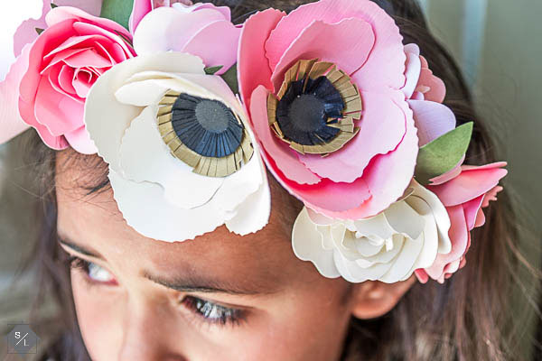 Make your own festive flower crowns