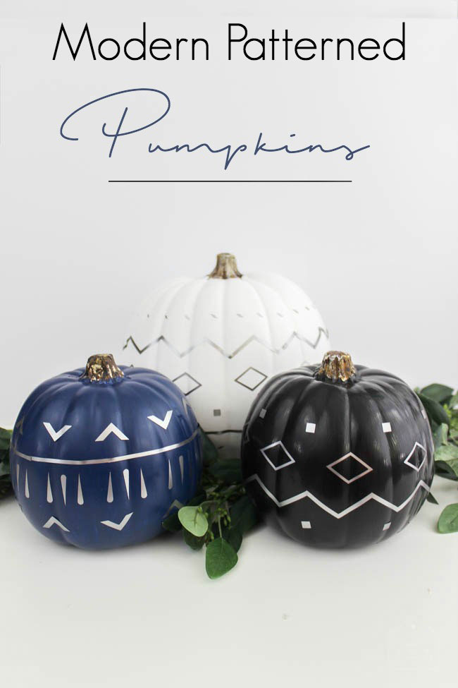 No need to carve your pumpkins when you use foil!