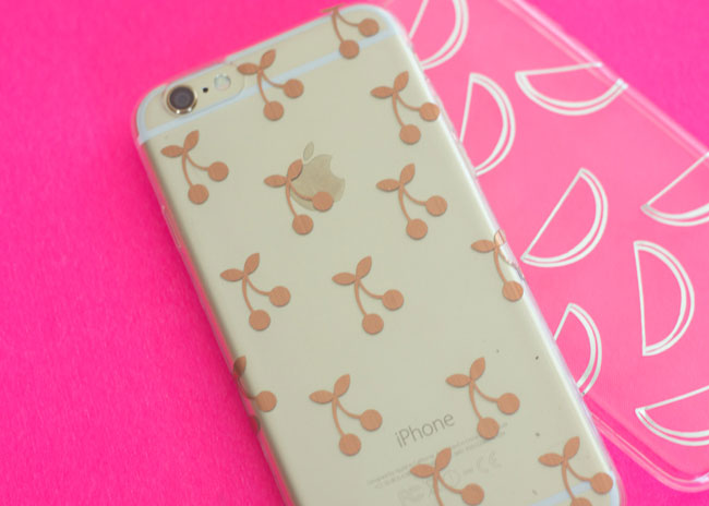 Add personal details to your phone case