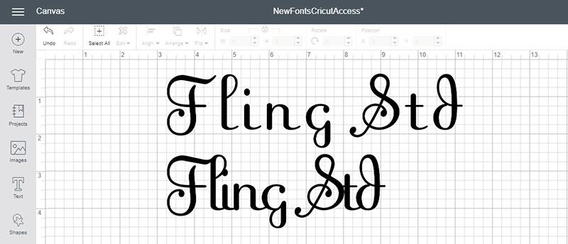 Fling Std Font