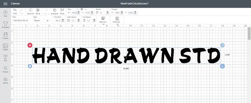 Hand Drawn Std Font
