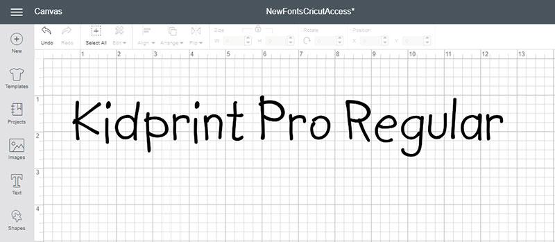 Kidprint Pro Regular Font