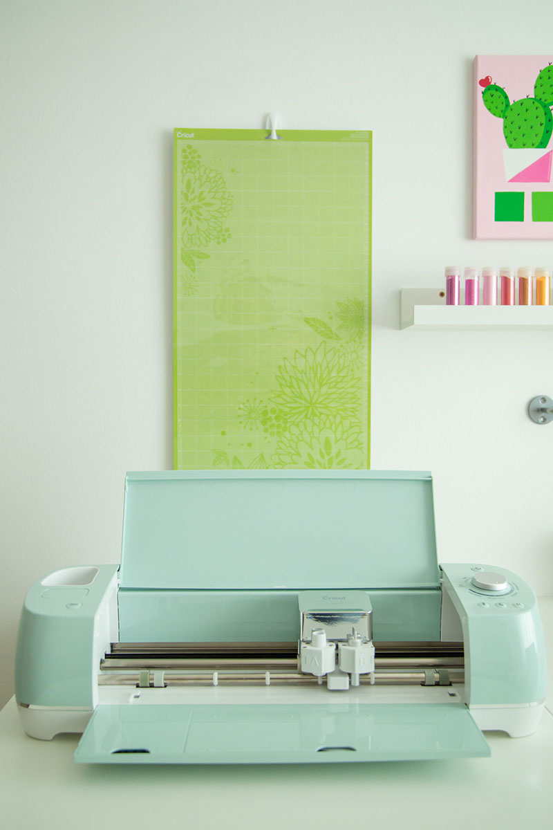 Organizing your Cricut machine and pads