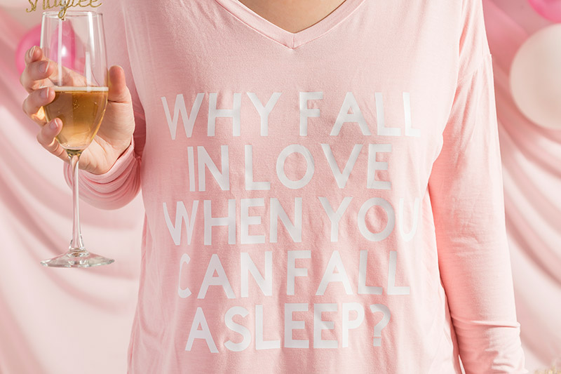 Fall in Love - Fall Asleep shirt project