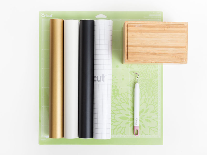 Supplies for Geometric Jewelry Box