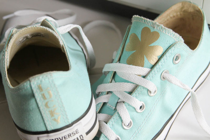 Wear your new lucky Chucks
