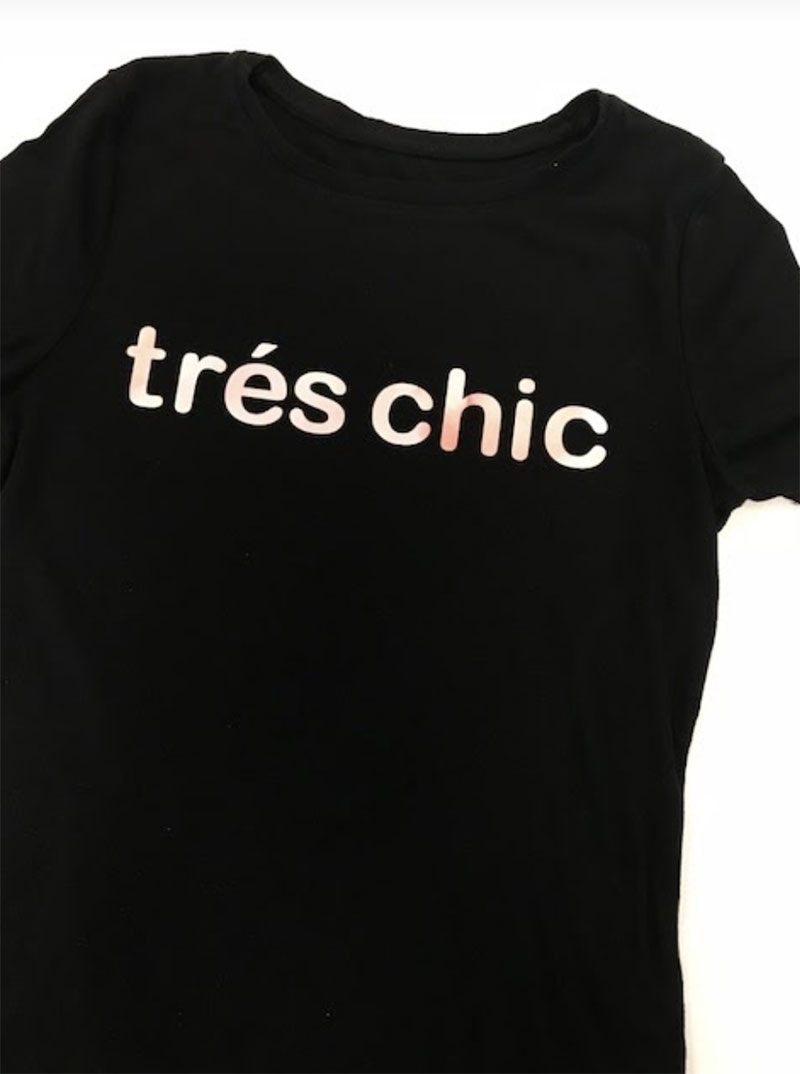 Tres chic It Girl shirt