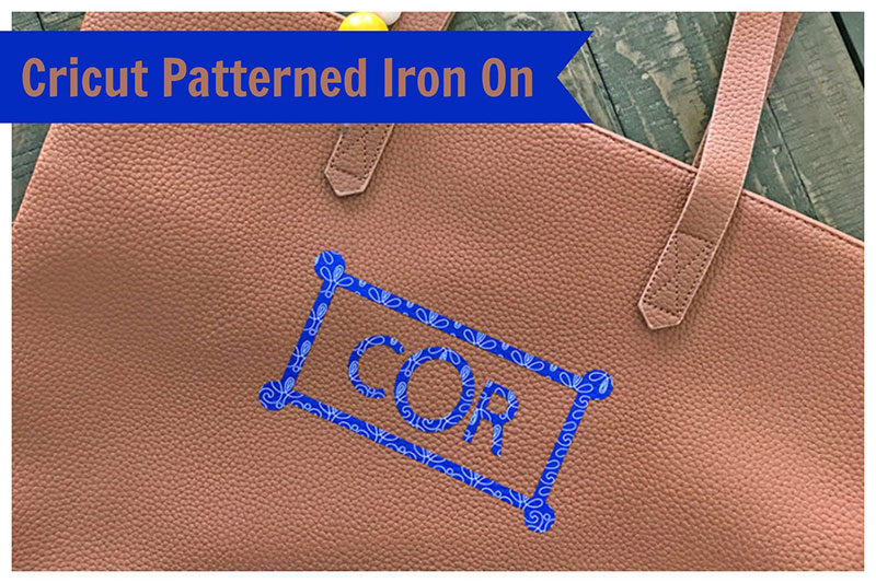 Meet the new Cricut Patterned Iron-on