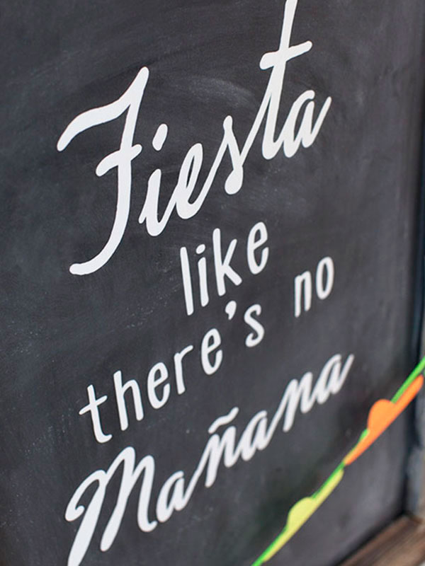 Cinco de Mayo fiesta sign