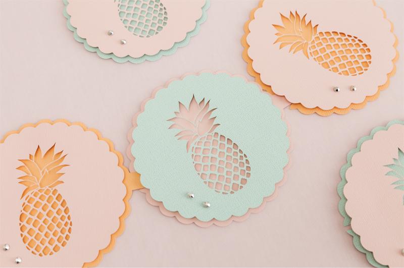 Martha Stewart Pineapple Party Garland