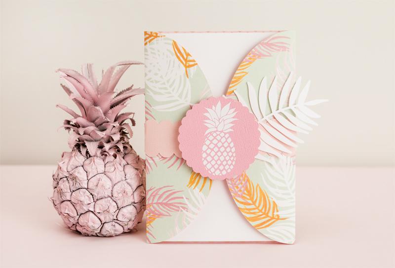 Martha Stewart Pineapple Party Invitation