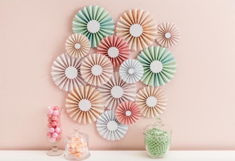 Martha Stewart Colorful Wall Rosettes
