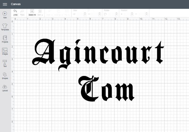 Agincourt Com font