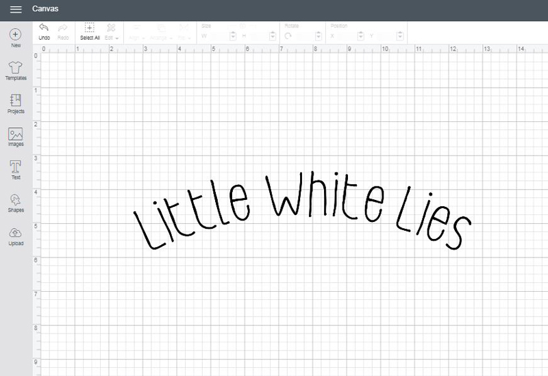 Little White Lies font