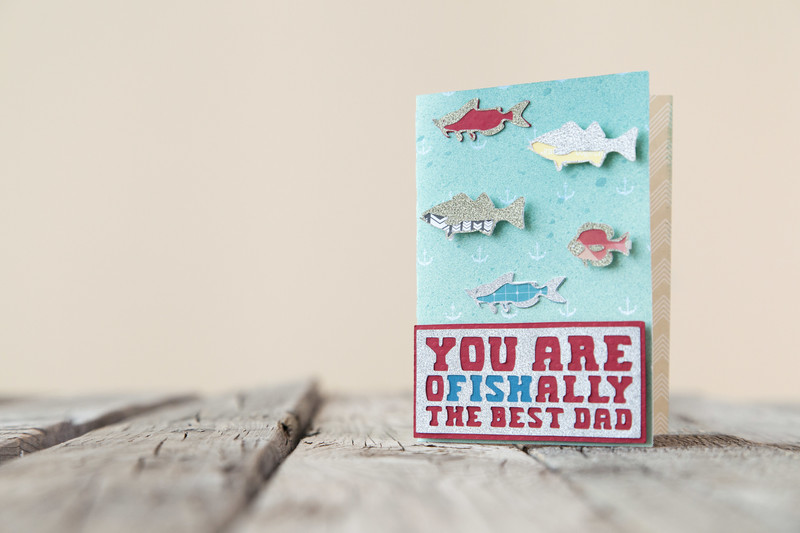 Ofishally the Best Dad Card*