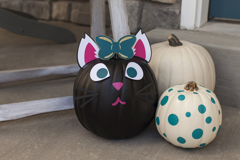Pumpkin Vinyl Art