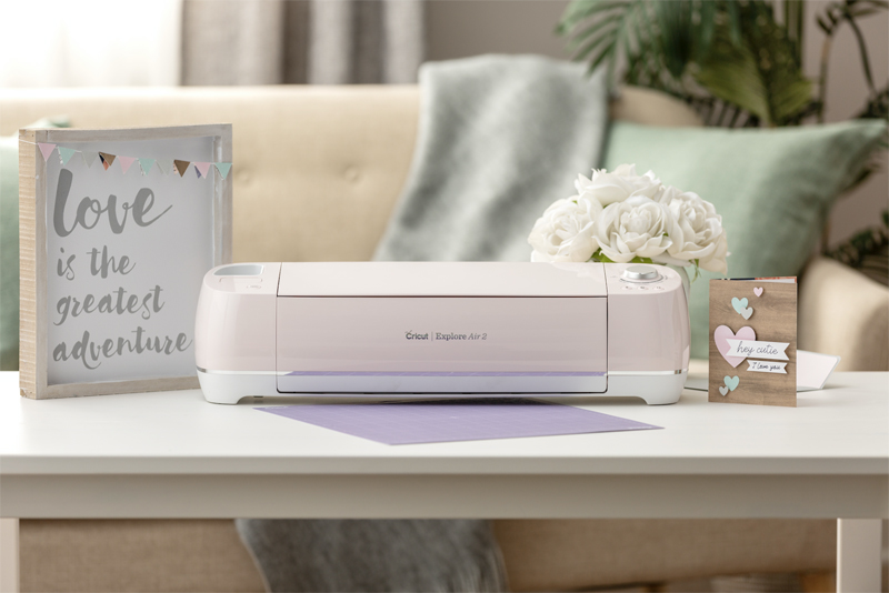 Pink Cricut Machines and Accessories