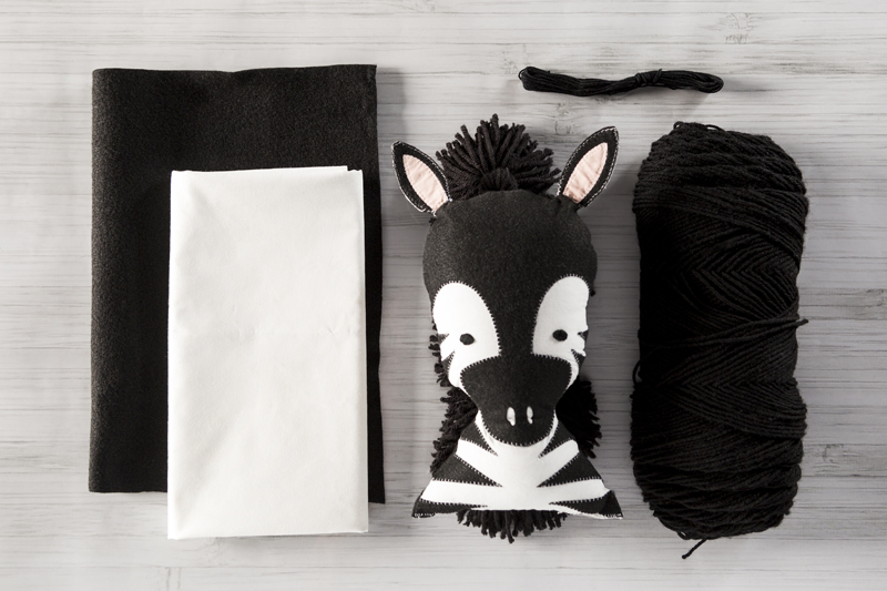 Stuffed Zebra Tutorial