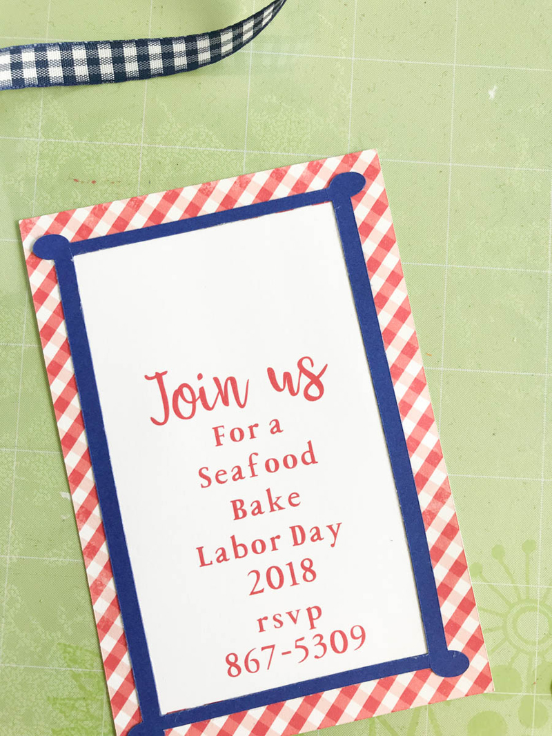 Labor Day Backyard Party