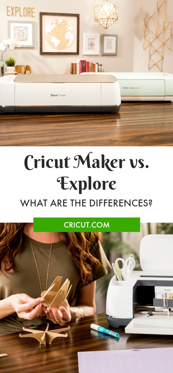 How is Cricut Maker Different from Explore Machines?