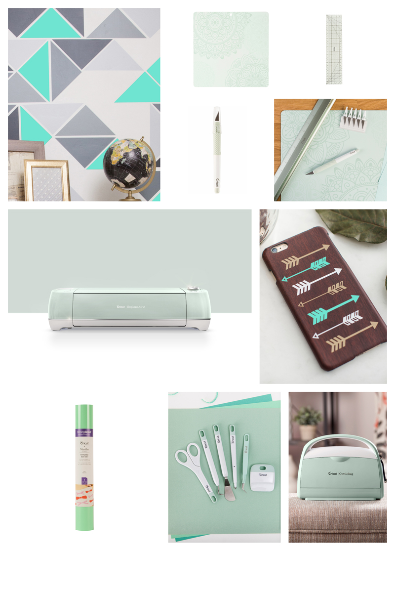 Mint Cricut Products