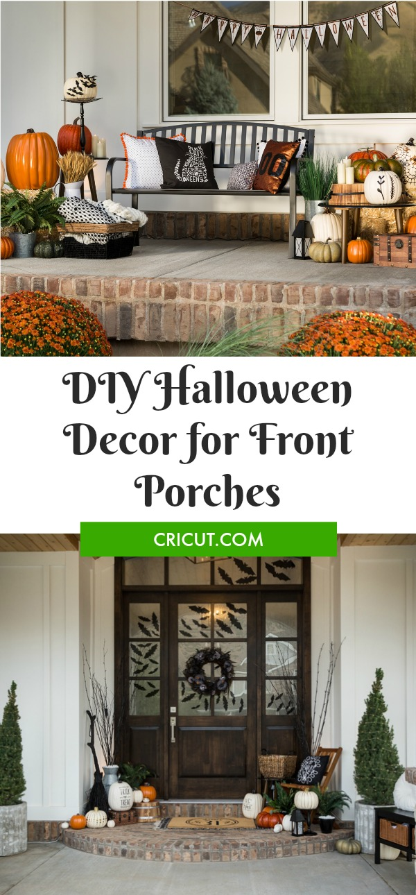 DIY Halloween for the Front Porch