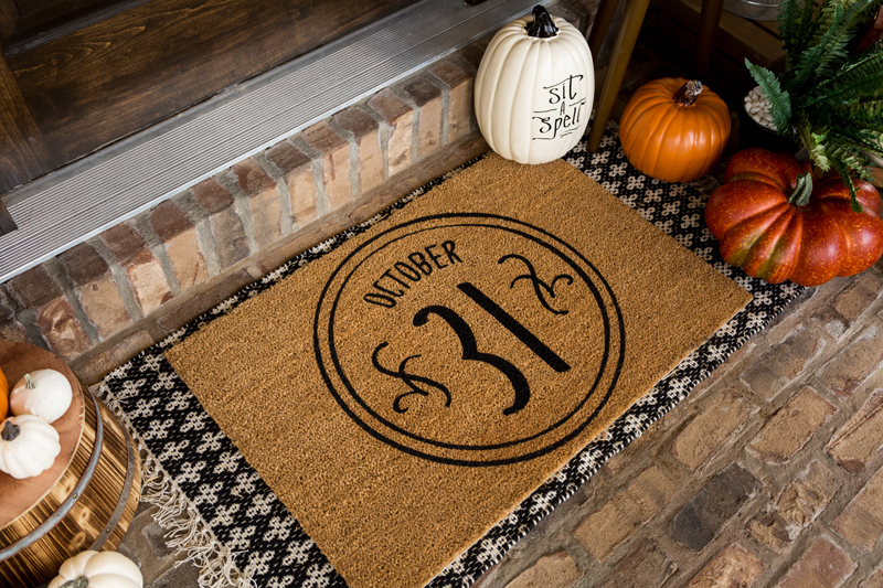 DIY Halloween Front Porch