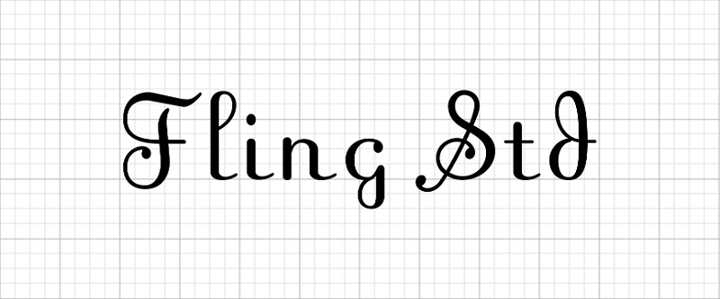 Get fancy with these script fonts in Cricut Design Space