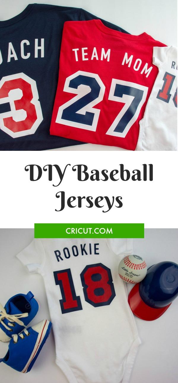 DIY Baseball Jerseys