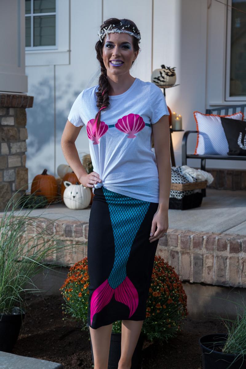 Last Minute Halloween Costume Idea: Mermaid Tail Costume