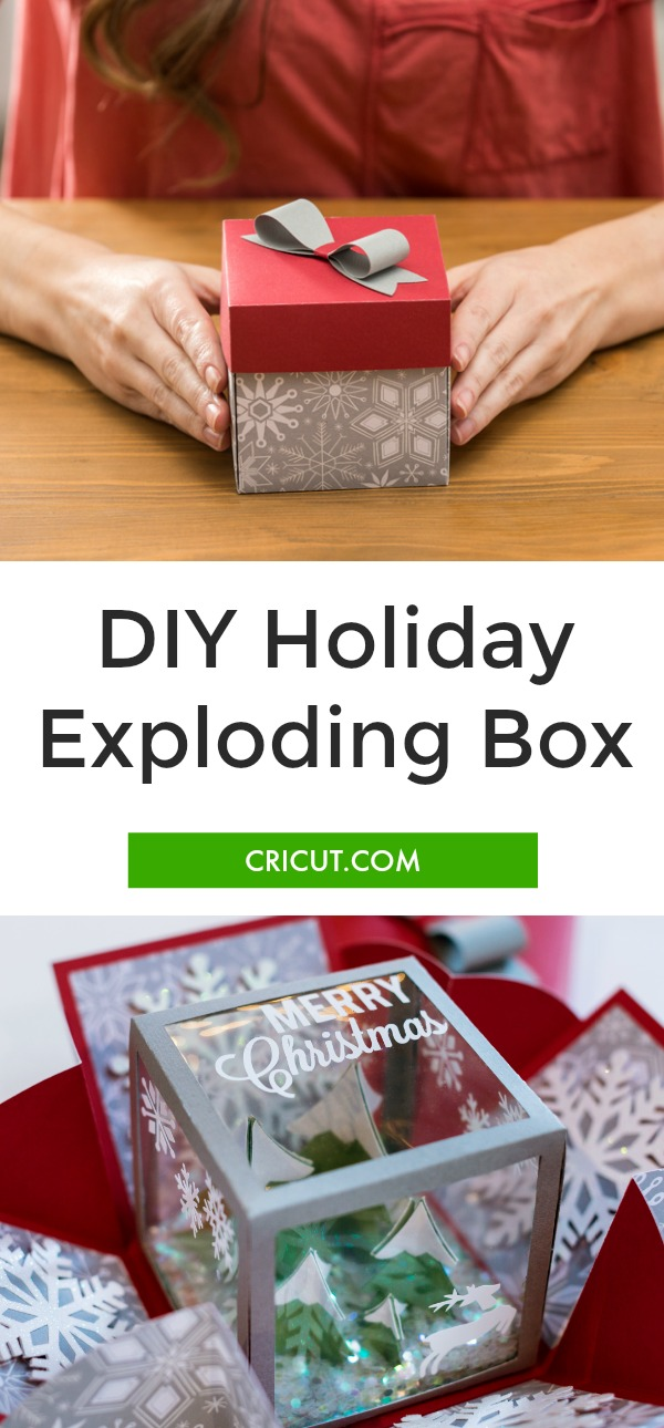 Holiday Exploding Box