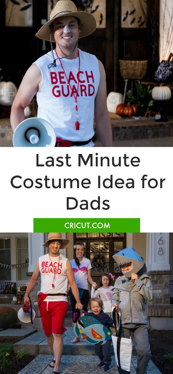 Last Minute Halloween Costume Idea for Dads