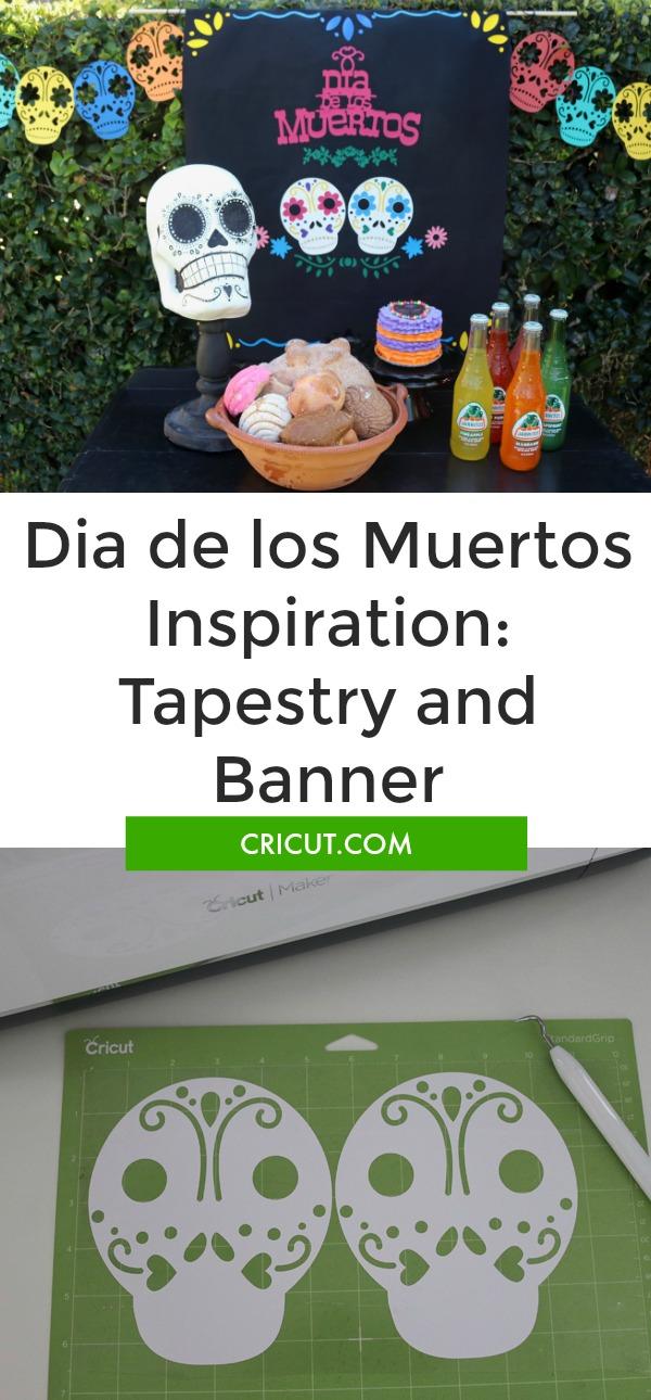 Dia de los Muertos Tapestry and Banner