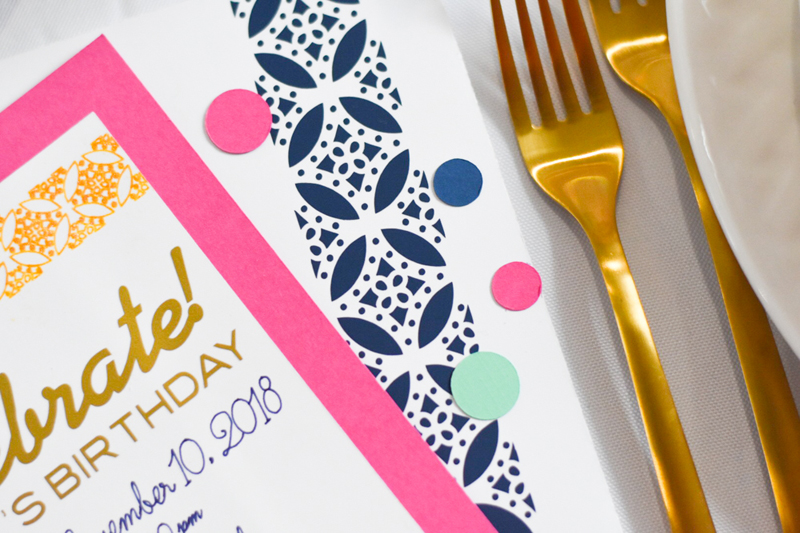 Plan your Parties with Martha Stewart and Cricut!