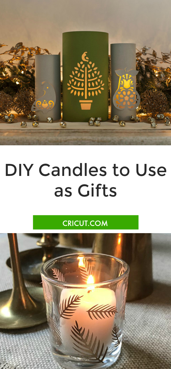 DIY Candle Gift Ideas With a Cricut