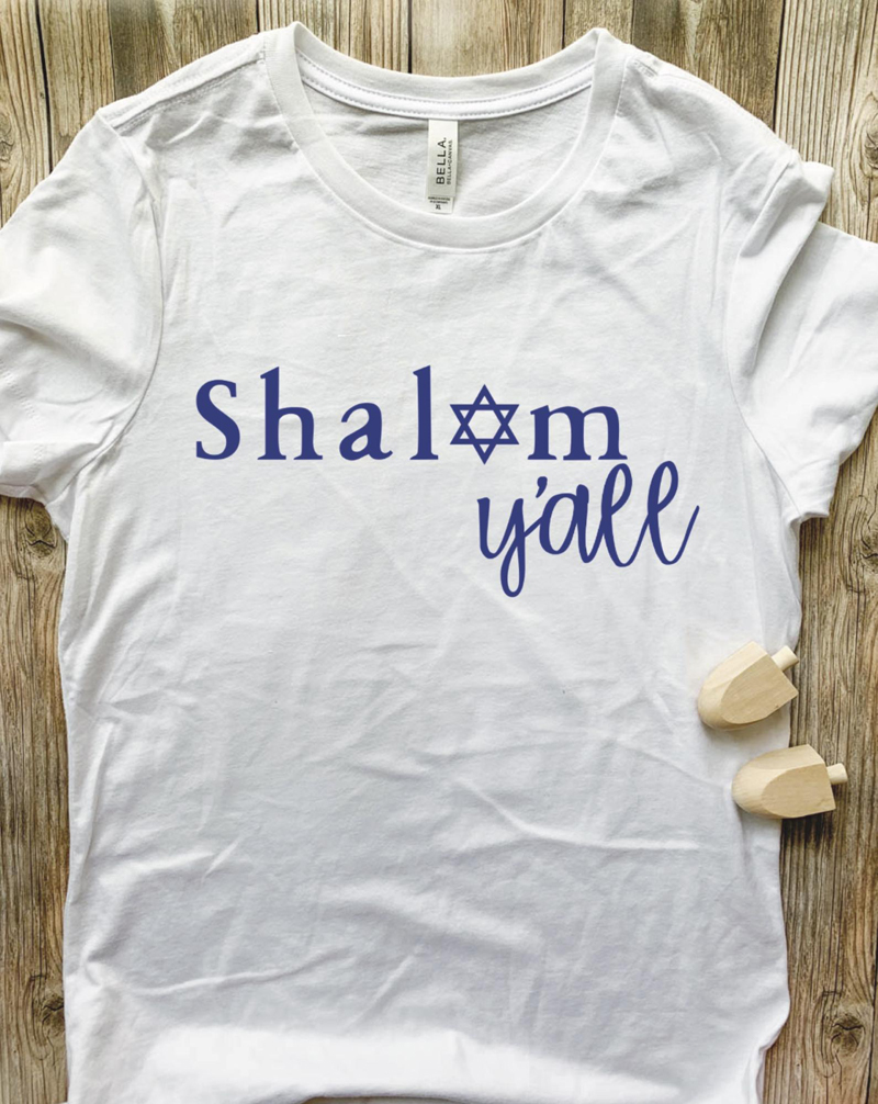 DIY Hanukkah Shirts