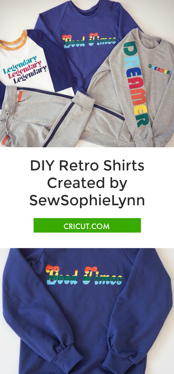 Retro Shirts with SewSophieLynn