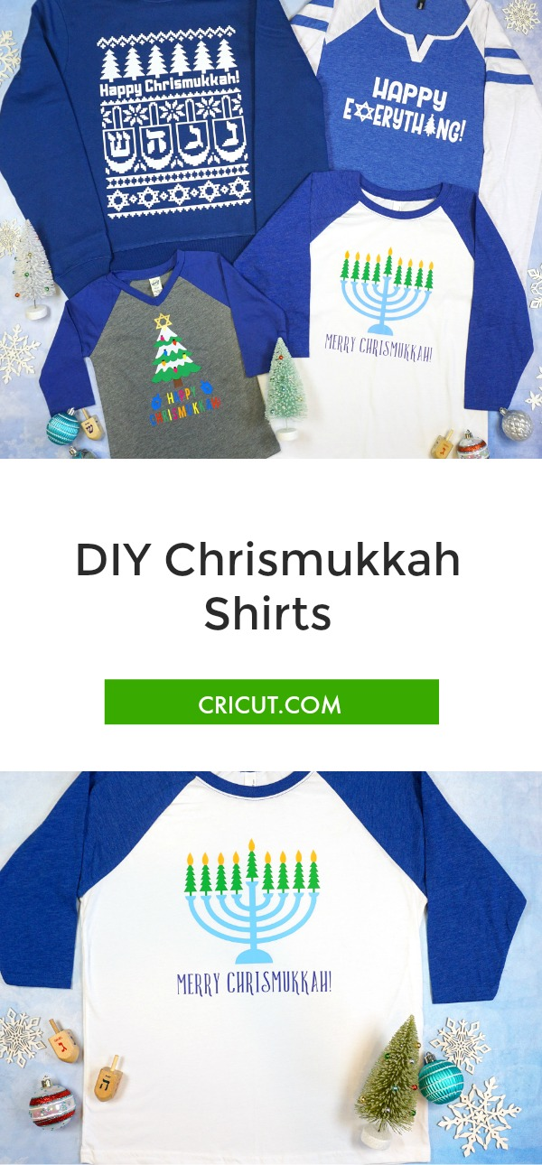 DIY Chrismukkah Shirts