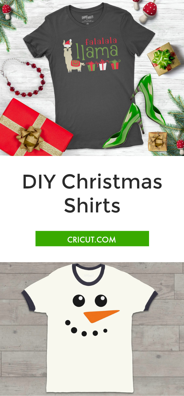 DIY Christmas Shirts - Paula Biggs