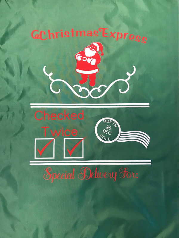 DIY Santa Sacks