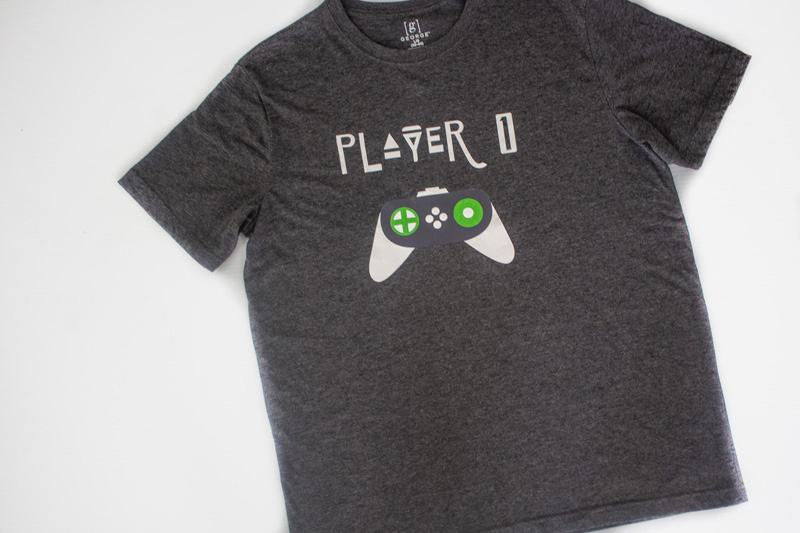 DIY Gamer Shirts