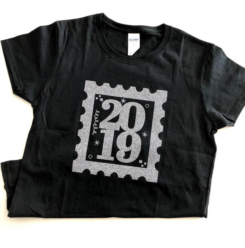 DIY New Year's Eve Shirts
